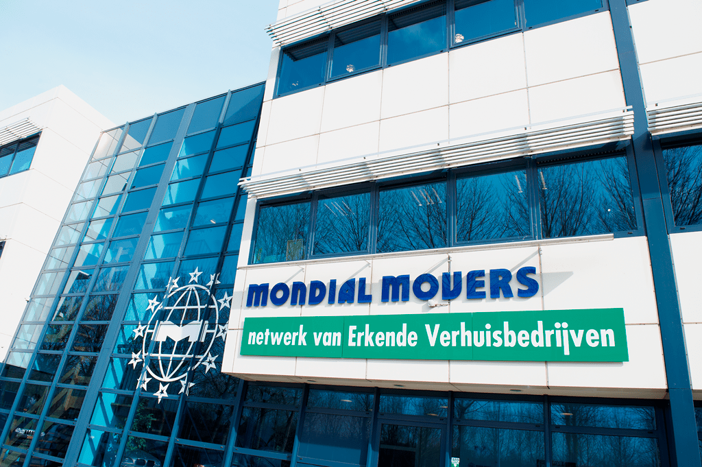 Hoofdkantoor Mondial Movers International Alblasserdam